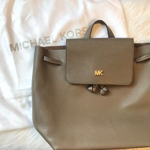 NWT Michael Kors drawstring backpack